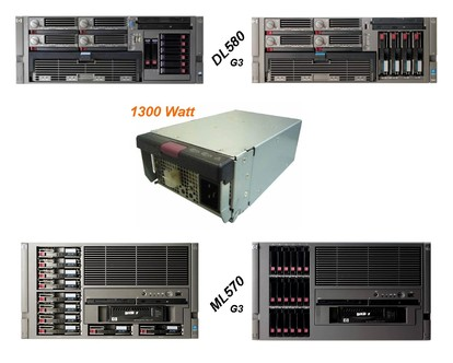 HP HSTNS-PA01, ProLiant G3, DL580, ML570
