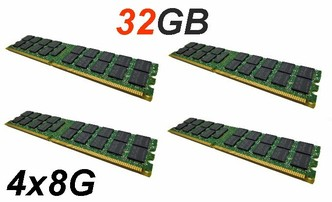 PC2-5300P RAM 32GB 2Rx4 Kit - PHP/IBM/DELL/a iné
