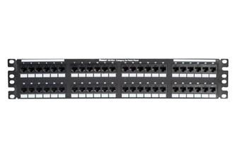 PANDUIT 48port Cat5e Patch panel  - osadený