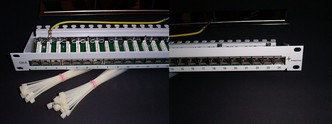 Telegärtner MPP24-HS Cat.6 Patch panel  24p - nové v OB
