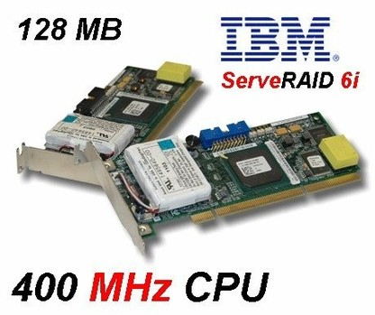 IBM ServeRaid 6i - Ultra320 PCI-X