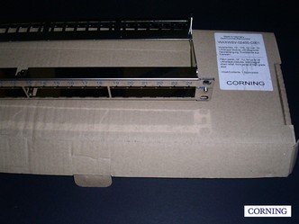 CORNING 24port modular Patch panel   - nové v OB